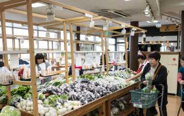 農産物直売所 朝採り館
